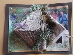 Into the Wildwood Altered Book