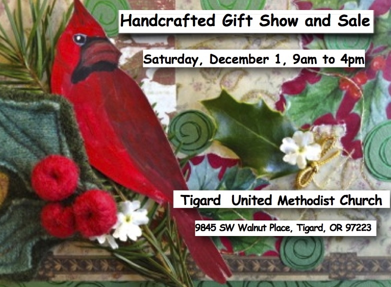 Upcoming Handcrafted Gift Show and Sale