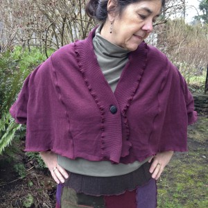 Upcycled Cotton Shrug