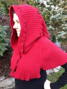 Red Robin hood!