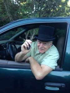 My pilot/ driver, Ed