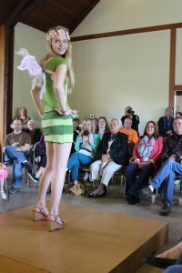 Upcycled Cotton dress and fairy wings