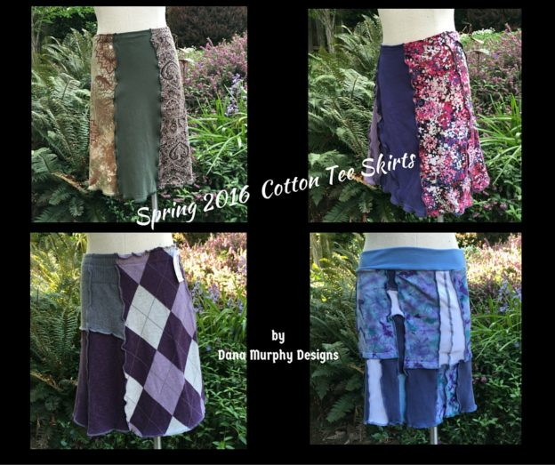 Spring 2016 Cotton Tee Skirts